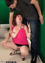 Dinner, dancing and an ass-fucking - Shirley Lily and Juan Largo (49 Photos) - 50 Plus MILFs