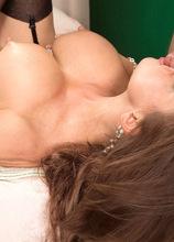 The boobs? Bigger? The hair? Different. The ass? Still fucked! - Raquel Sieb and Al B (62 Photos) - 50 Plus MILFs