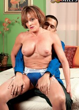 Hot For Teacher - Riley Wayne and Juan Largo (49 Photos) - 50 Plus MILFs