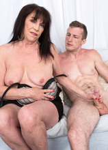71-year-old Christina's first on-camera XXX - Christina Starr and Brick Danger (42 Photos) - 60 Plus MILFs