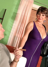 Look What Bea Brought Home From The Mall! - Bea Cummins, Lucas Stone, and Mr. Cummins (50 Photos) - 60 Plus MILFs